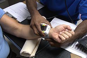 Blood pressure monitor lab-testing