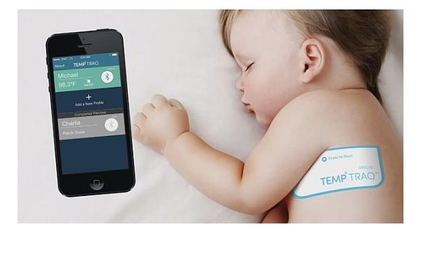 Temptraq baby thermometer