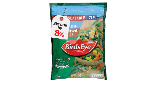 Birds Eye Select Mixed Vegetables