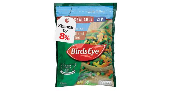 Birds Eye Select Mixed Vegetables
