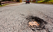 Seven in 10 drivers hit potholes in last two years