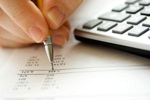 self assessment tax hand pen and calculator
