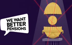 We want better pensions campaign image