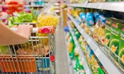 Which supermarket was cheapest in February 2015?