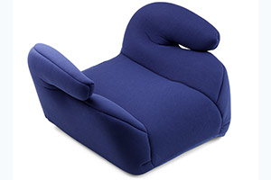 Backless child's booster seat