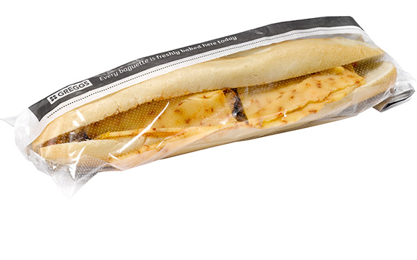 Greggs Mexican Chicken baguette