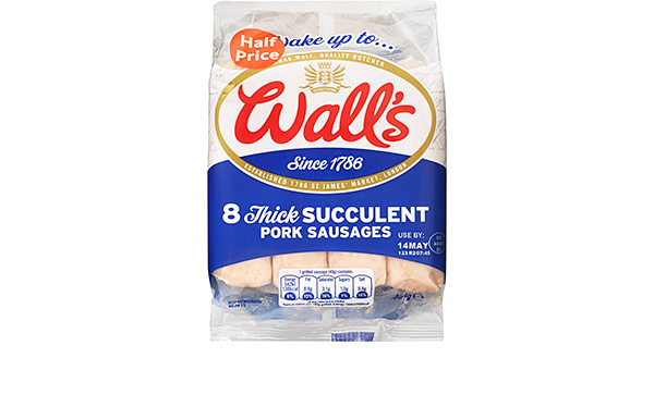 Wall's Classic Thick Pork Sausages