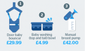 Save £408 by avoiding 'least useful' baby products