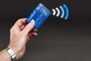 contactless payment card