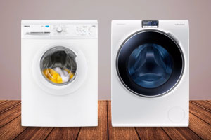 Zanussi and Samsung washing machines