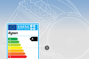 Energy label rating dyson