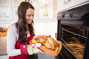 Cooking Christmas roast
