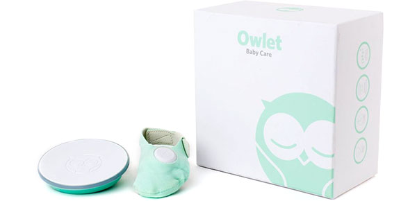 Owlet heart rate and oxygen monitor