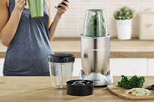 Image of the Aldi Nutrient blender on a worktop