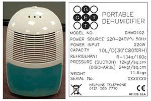 Argos 10 litre dehumidifier