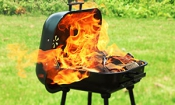 Top five barbecue care tips to avoid a fire