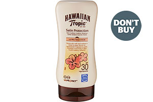 Don't Buy Hawaiian Tropic Satin Protection Lotion SPF30 180ml