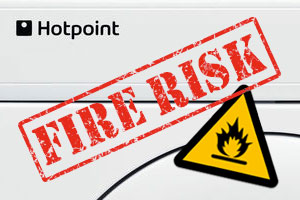 Hotpoint fire risk