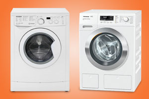 Miele WKR571WPS and Indesit EWD81482W