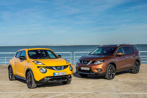 Nissan Juke and X-Trail