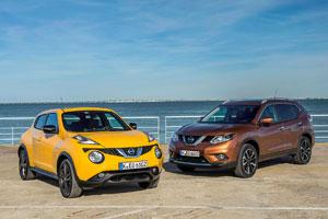Nissan Juke and X-Trail