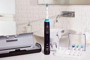 Oral b genius 9000 black electric toothbrush