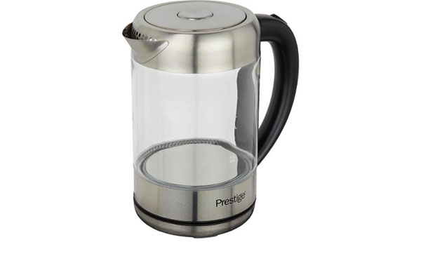 Prestige Glass & Stainless Steel 59895 kettle