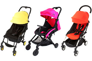 Ickle Bubba Aurora pushchair, Red Kite Push Me Cube, Babyzen Yo Yo+