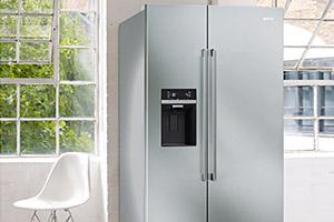 Smeg-SBS63XED fridge freezer