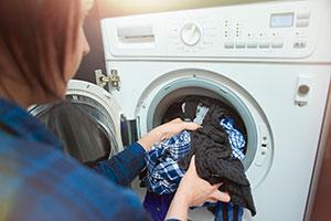 using washer dryer