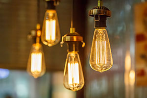 vintage lightbulbs
