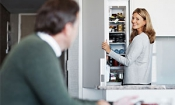 New Best Buy fridge freezer great for your food