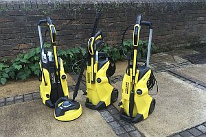 Which tries out karcher s full control pressure washers - Karcher k5 full control ...
