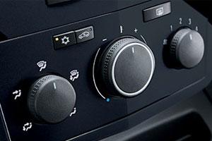 Vauxhall Zafira controls