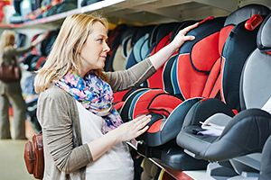 Shopping for baby car seat