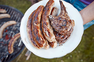Sizzling summer sausages