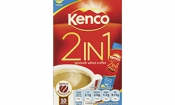 Kenco halves coffee and almost triples sugar in 2-in-1 sachets