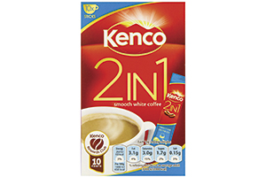 Kenco 2-in-1 coffee sachets