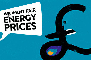 we want fair energy prices image