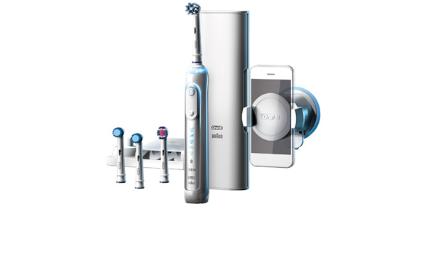 Oral B Genius electric toothbrush