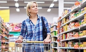 Which supermarket was cheapest during October 2016?