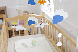 Baby cot mobile