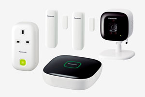Panasonic Smart Home Monitoring & Control Kit KX-HN6012EW