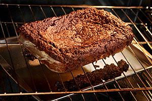 burnt cake