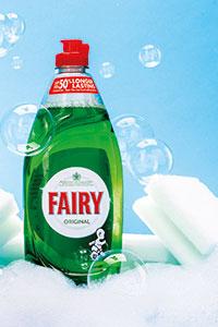 Bottle of Fairy Liquid Original