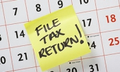 Who's the worst at hitting the tax return deadline?