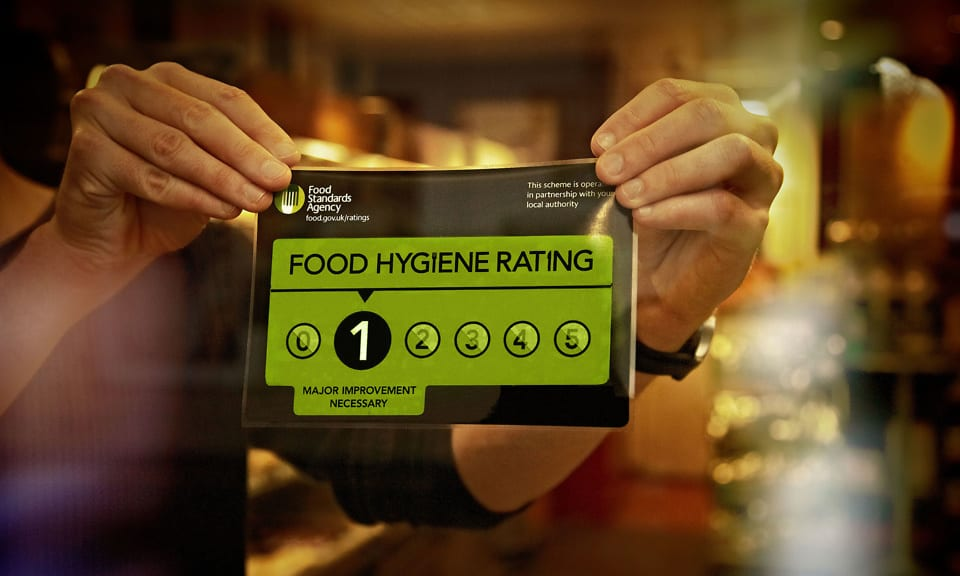 Failing food hygiene at top-rated UK hotels