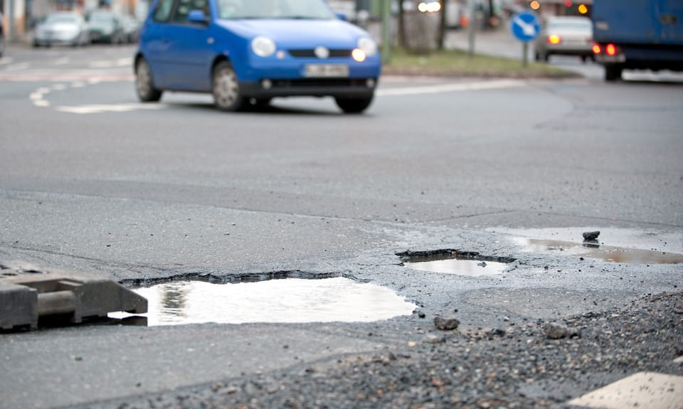 Welsh and Londoners losing out on pothole compensation
