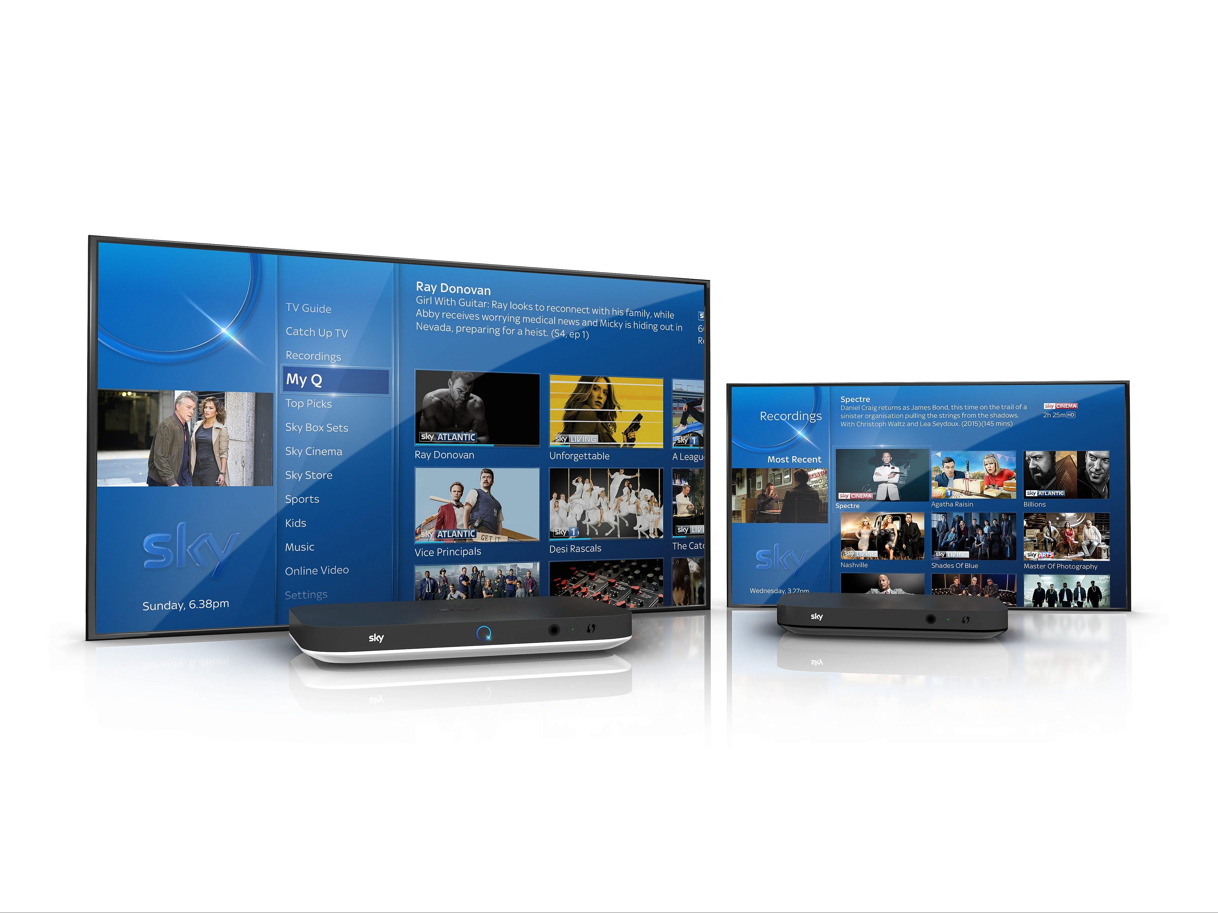 Sky Q Aktuelle Software Version