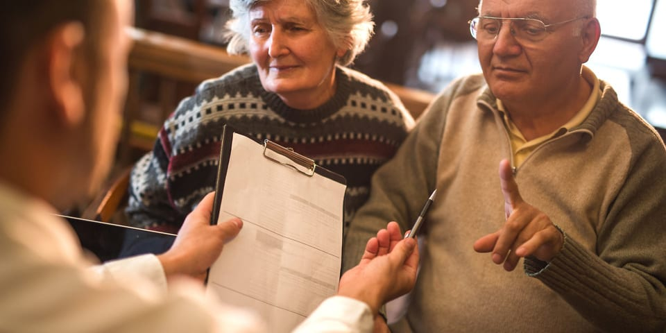 An old couple reclaiming PPI